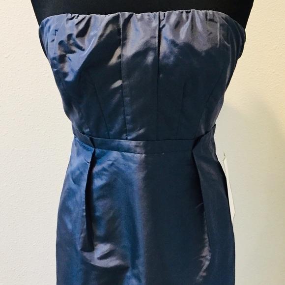 J. Crew Dresses & Skirts - J. CREW Shimmery Blue Sleeveless Dress